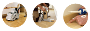 Floor Sanding & Finishing services by ( from) professionalists in Hardwood Floor Repair